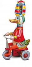 Clockwork Duck On A Tricycycle